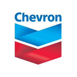 the chevron lubes logo