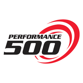 the performance 500 logo