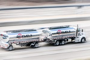 unbranded wholesale fuel deliver truck