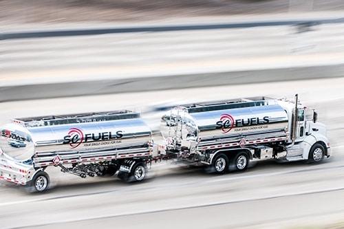 Bulk Fuel Truck