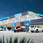 a Valero branded gas station