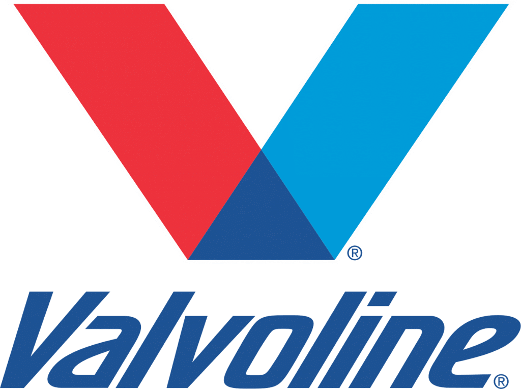 the Valvoline lubes logo